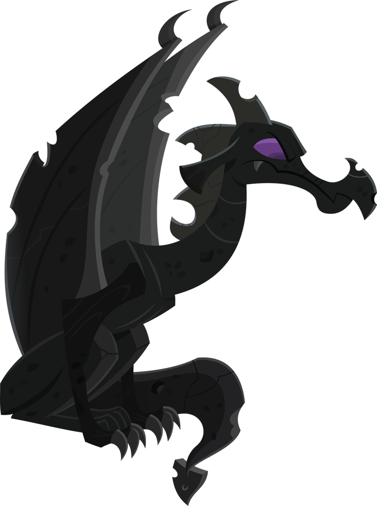 Gargoyle vector art. Dragon by bluethunder on