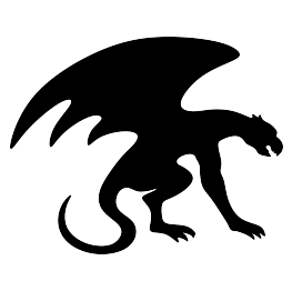 Silhouette free svg crafty. Gargoyle vector sad clip freeuse library