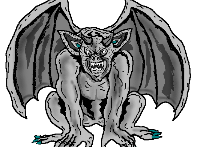 Collection of free gargyle. Gargoyle vector sad image freeuse download