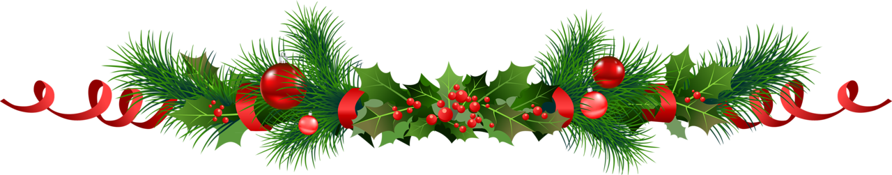 Garland border png. Collection of clipart