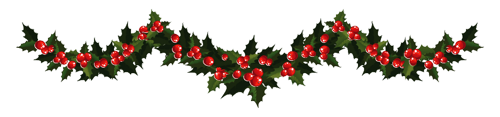 Png garland. Transparent images all