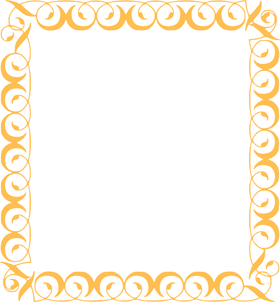 gold filigree border png
