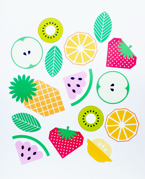 Garland clipart printable. Fruit minieco freebie by