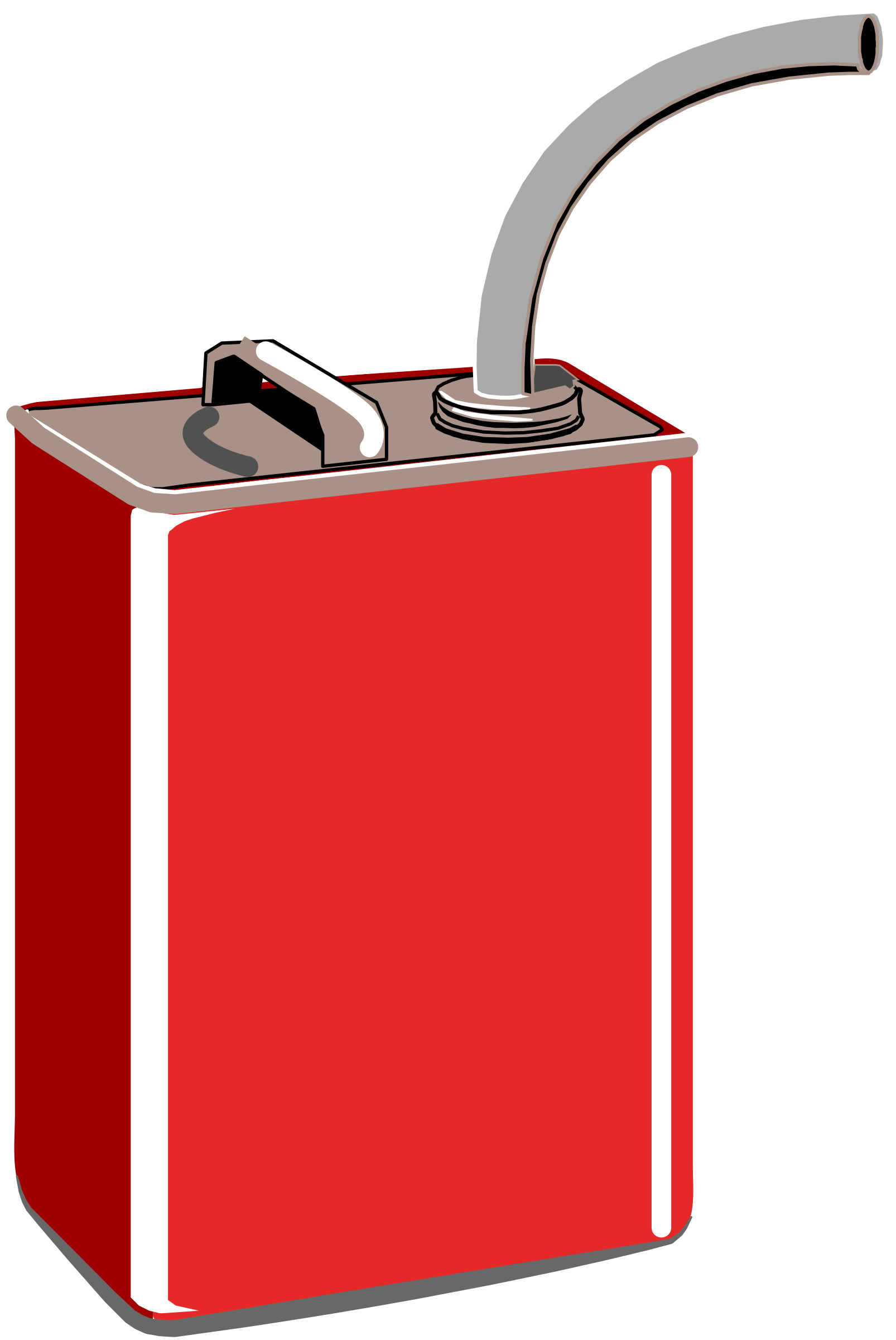can clipart illustration