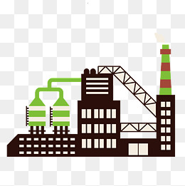 Chemical plant png vectors. Gas clipart petrochemical jpg stock