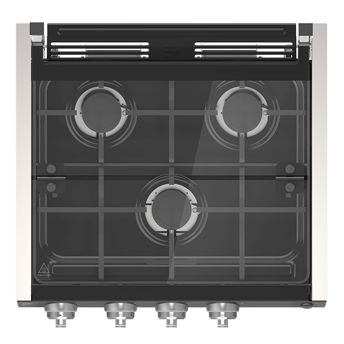 Gas clipart single stove. Cooktops furrion global range
