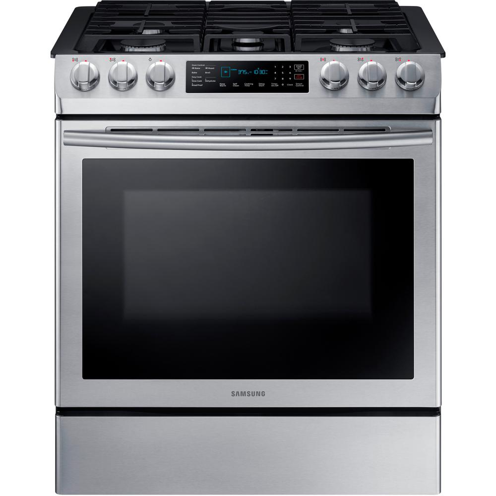Gas clipart single stove. Samsung in cu ft