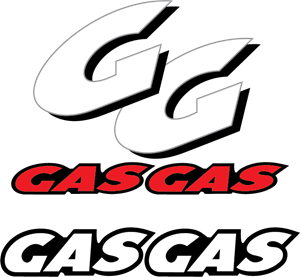 Gas vector logo. Motorcycles eps free download