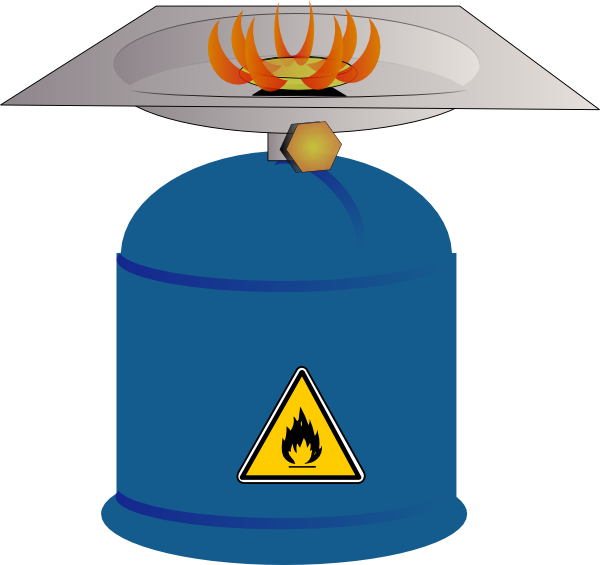 Gas vector cartoon. Collection of free gases