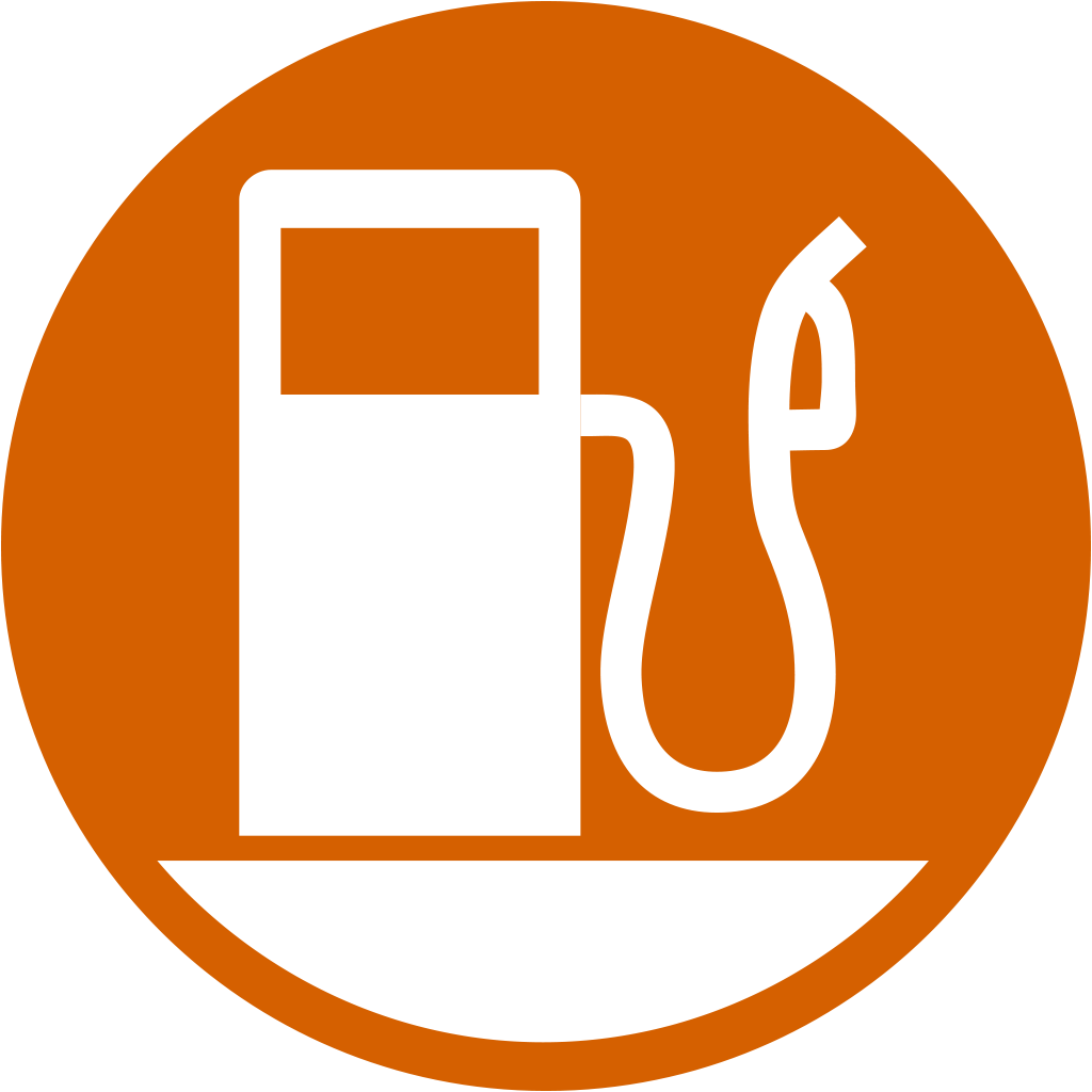 Gas vector station. Free icon download fuel