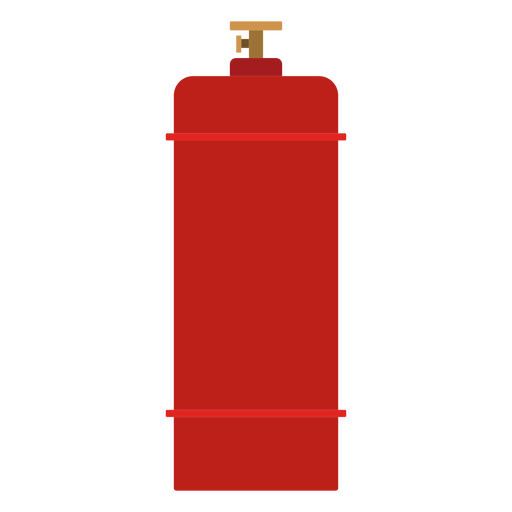 Gas vector cylinder. High pressure icon transparent