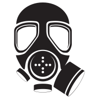 Gas vector mask. Icons noun project