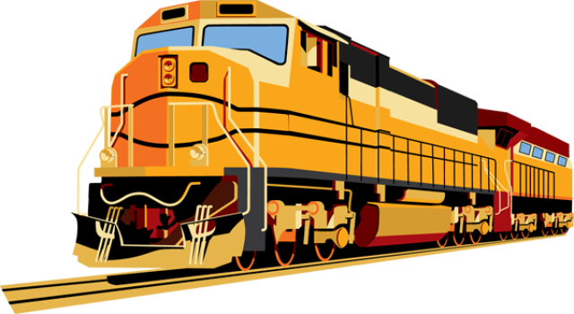 Gas vector stasiun. Train png images free