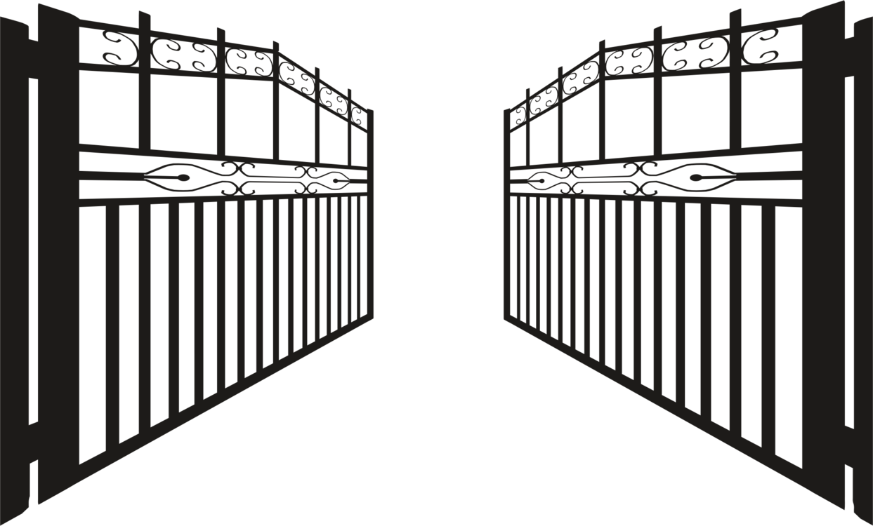 Gate clipart iron gate. Computer icons wrought windows