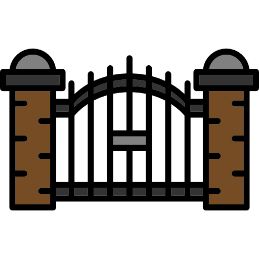 Gate clip main. Collection of clipart