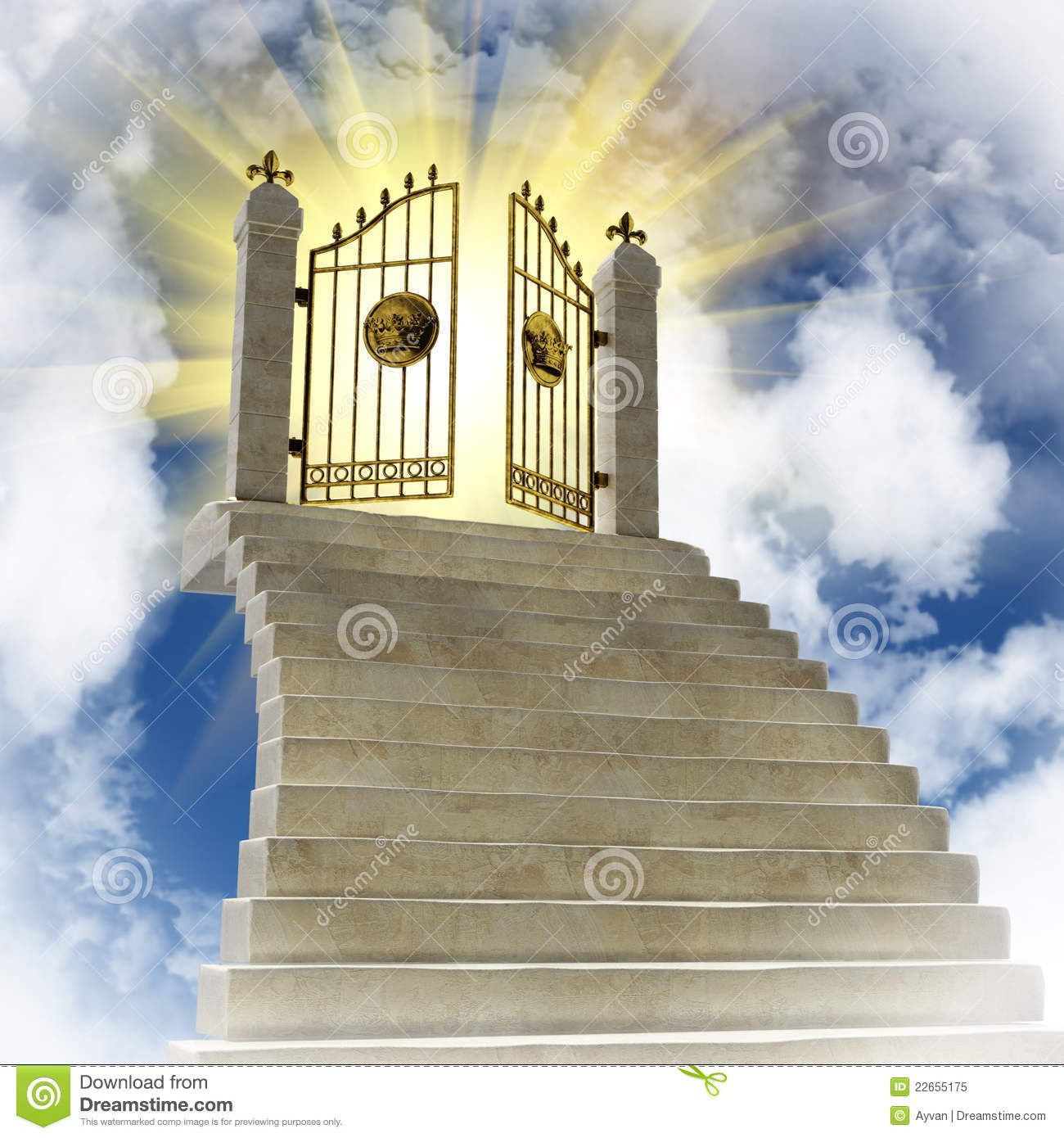Heaven clipart heaven door. Pearly gates of the