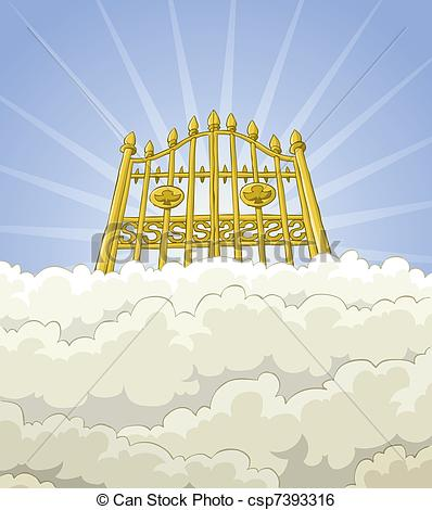 Paradise gate csp. Heaven clipart picture free download