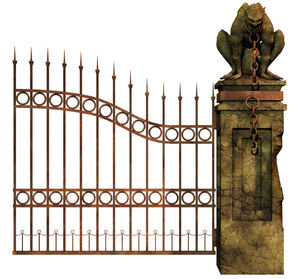 Gate clipart iron gate. Png images transparent free