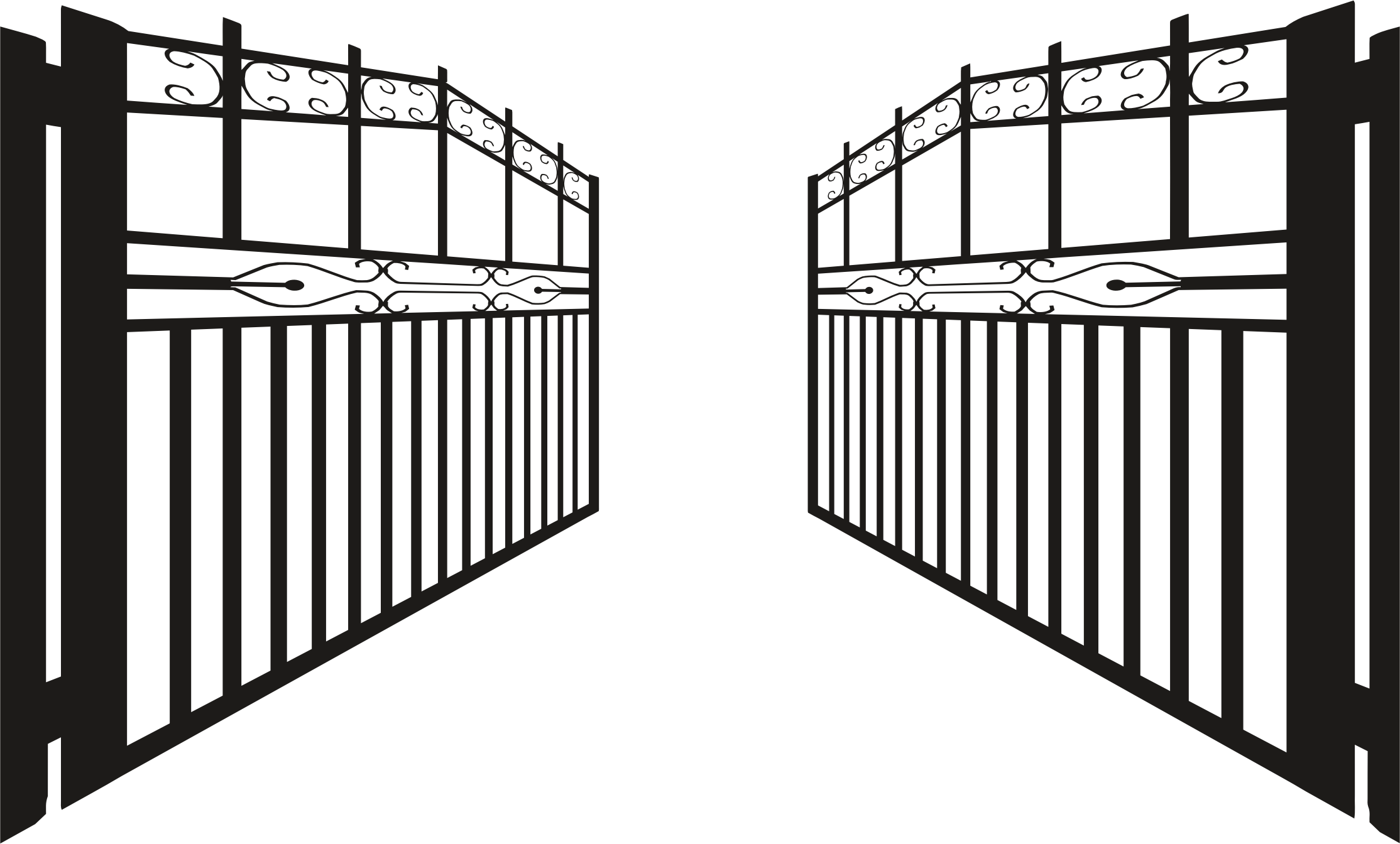 Gate png. Open transparent images pluspng