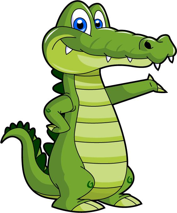 mascot vector crocodile