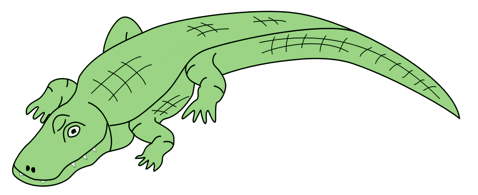 Panda free images alligatorclipart. Alligator clipart angry alligator clipart stock