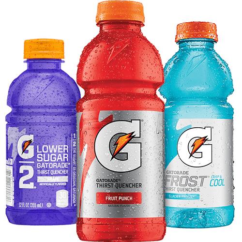 gatorade transparent name