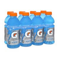 Cool blue pk of. Gatorade transparent 16 oz picture