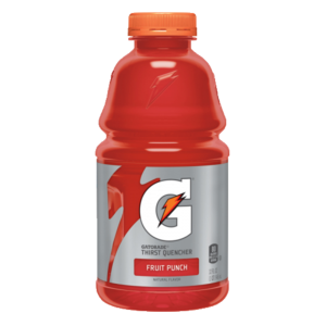 Gatorade transparent. Fruit punch oz yocart