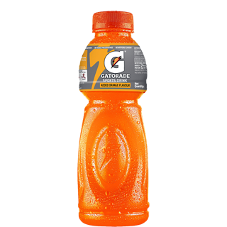 gatorade transparent orange
