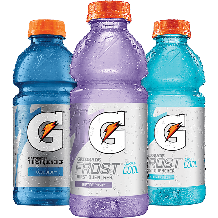 gatorade transparent cool