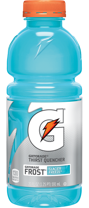 gatorade transparent sports drink