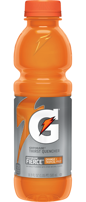 Gatorade transparent orange. Official site for pepsico