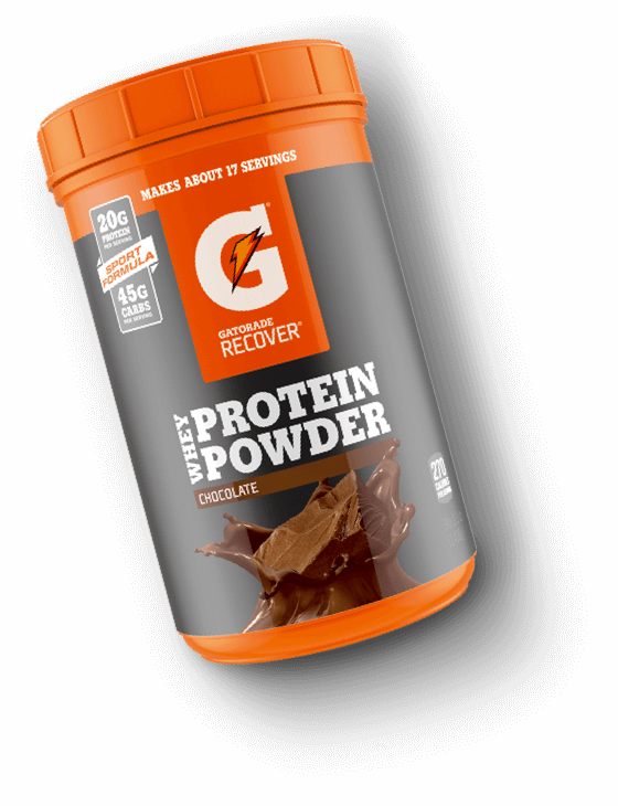 Gatorade transparent protein. Sports fuel whey powder