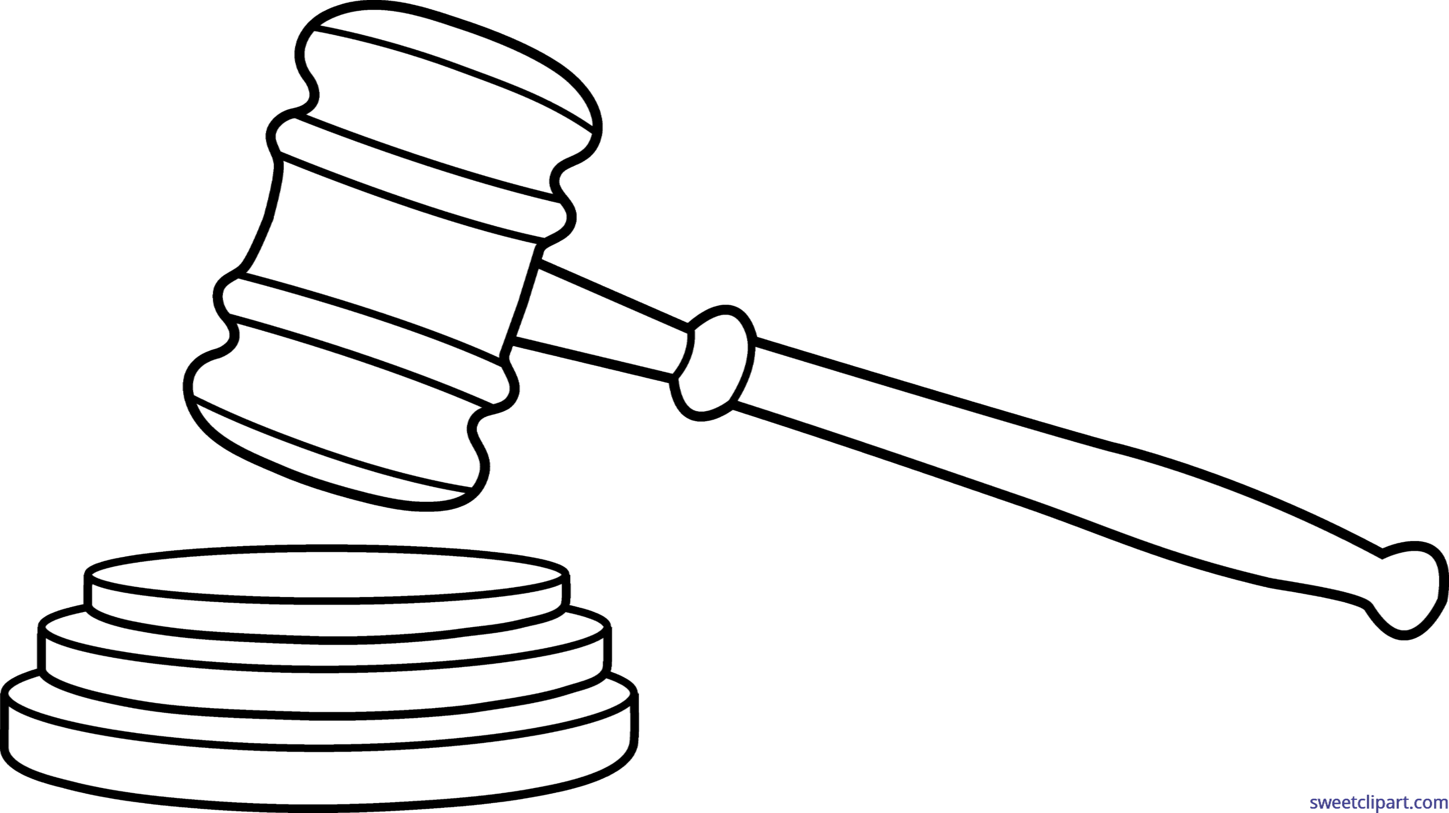 court drawing clipart