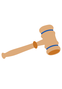 Gavel clipart lawyer. By donegalbay this is