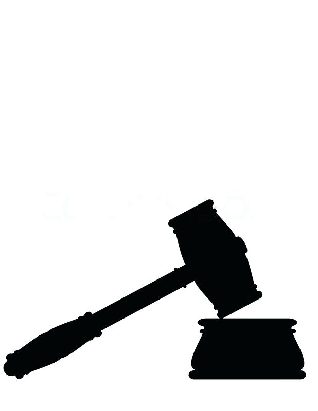 Gavel clipart lawyer. Legal symbols clip art