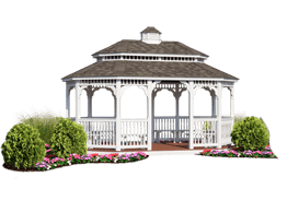 transparent roofing pergola