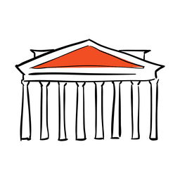 Shack vector hand. Parthenon transparent png or
