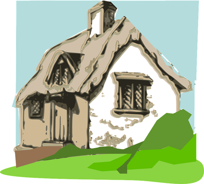 Collection of free cottaged. Gazebo vector straw roof clipart royalty free stock