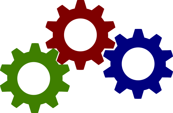 Gear clipart different.