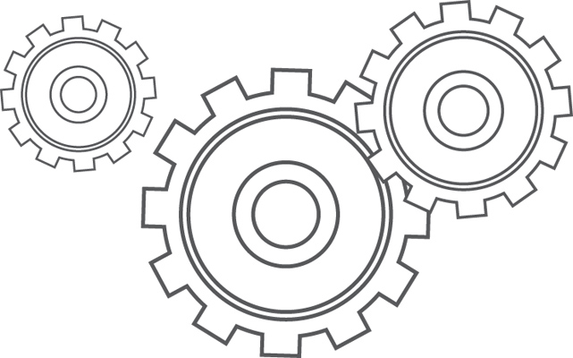 Gear Production Transparent & PNG Clipart Free Download - YA-webdesign