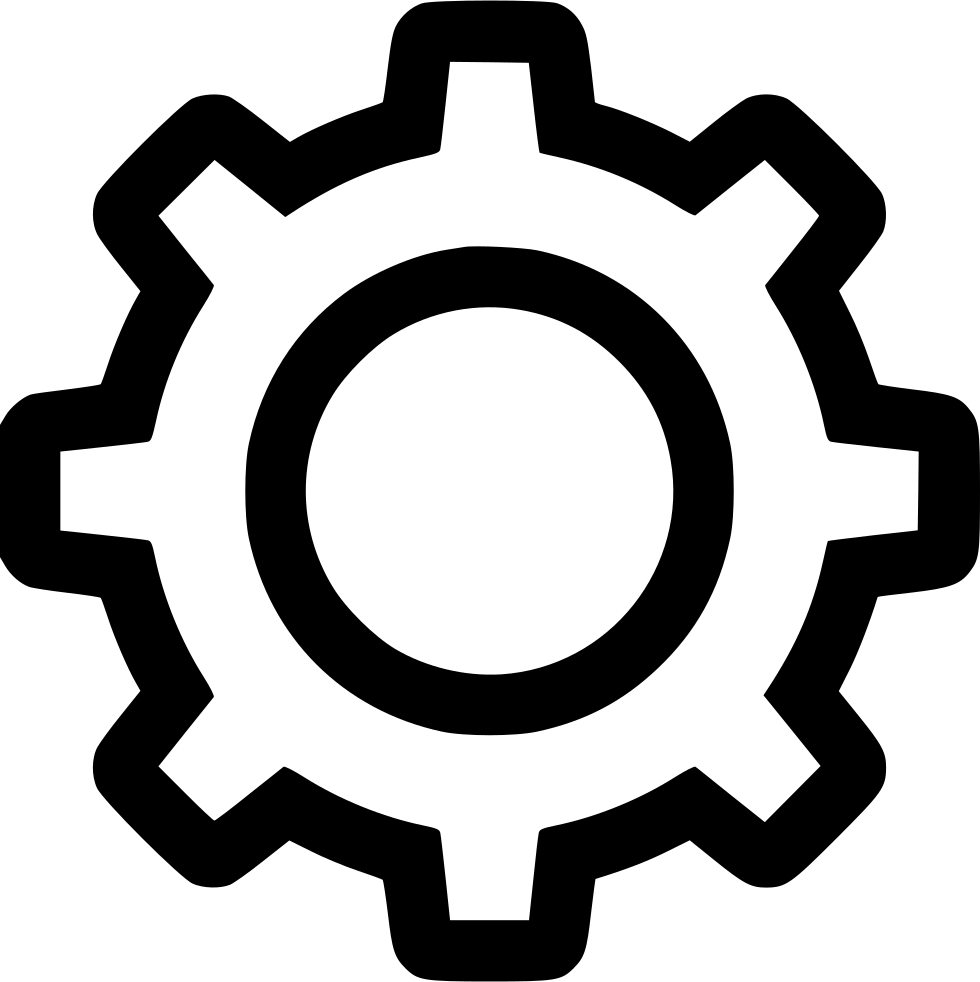 Gear image png. Settings svg icon free