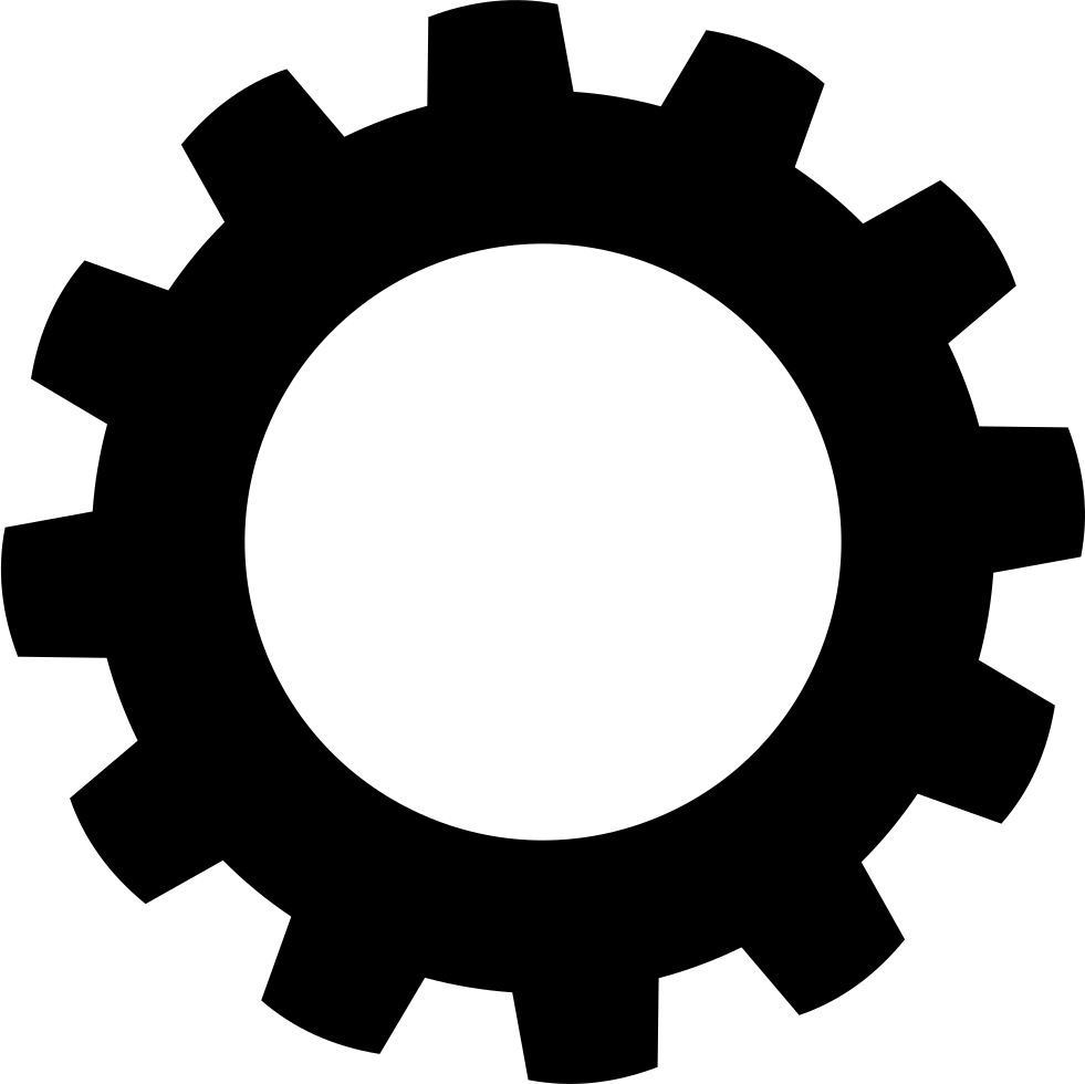 Gear png. Svg icon free download