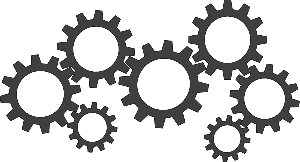 cogs vector large