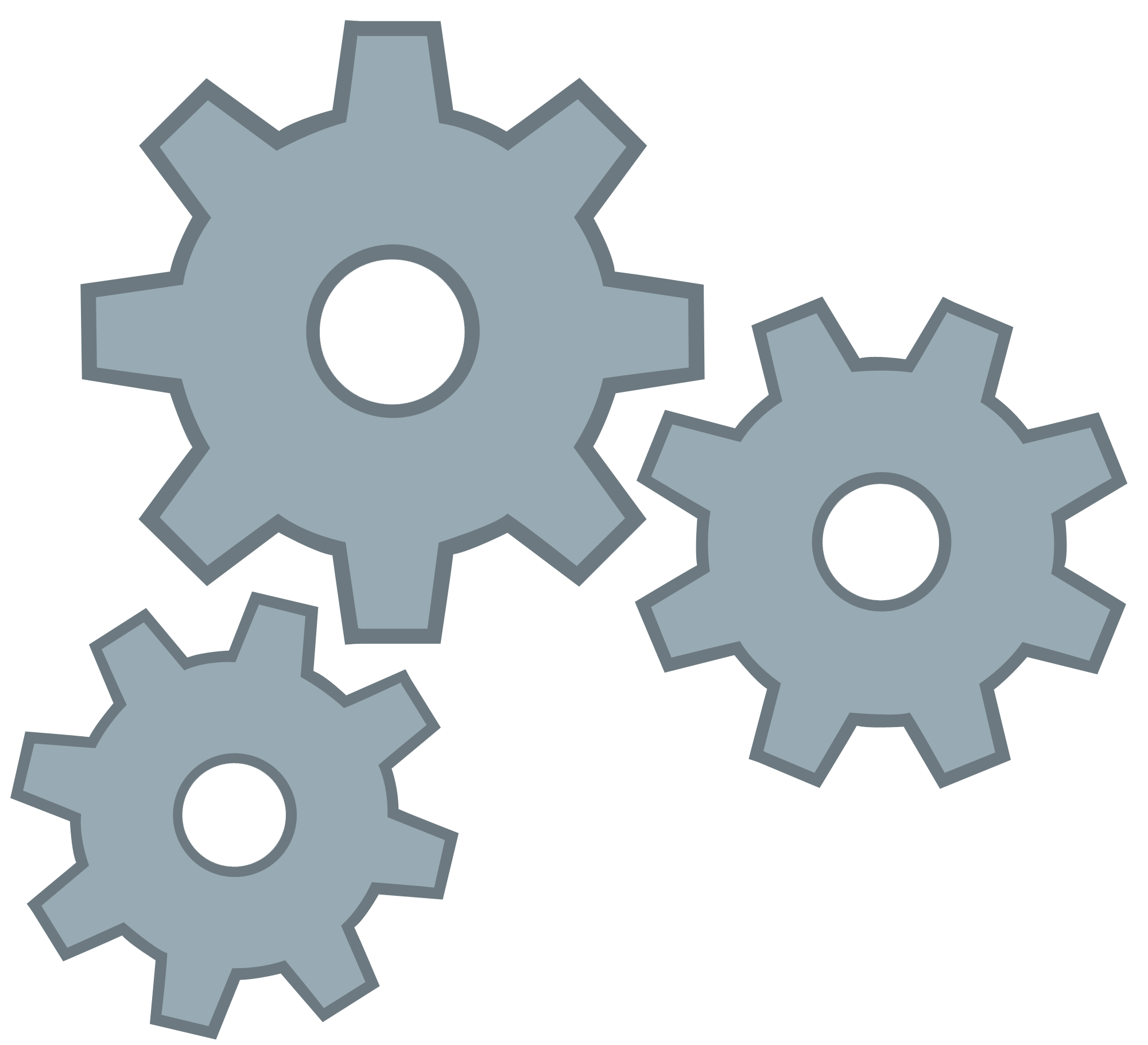 cogs vector two