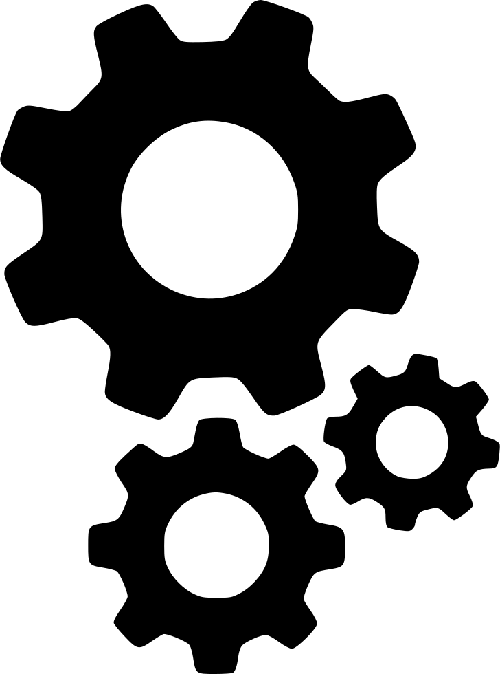 Gears icon png. Cogs settings options setting