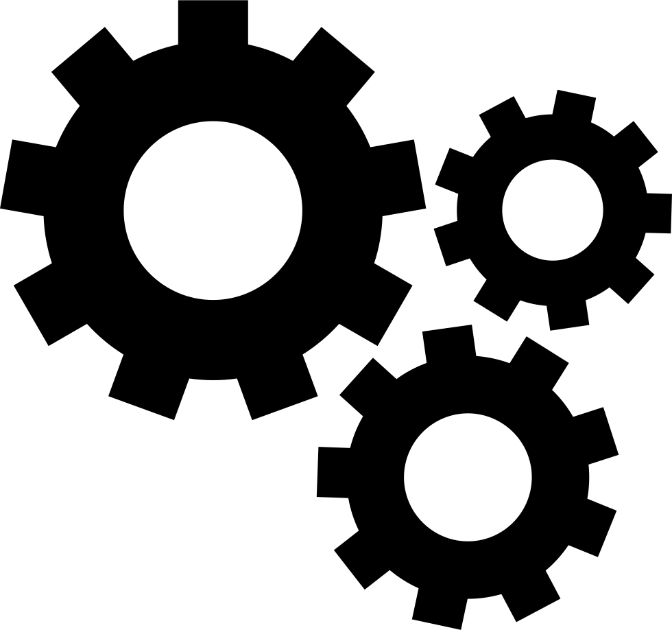 Bio vector mechanical. Gears svg png icon