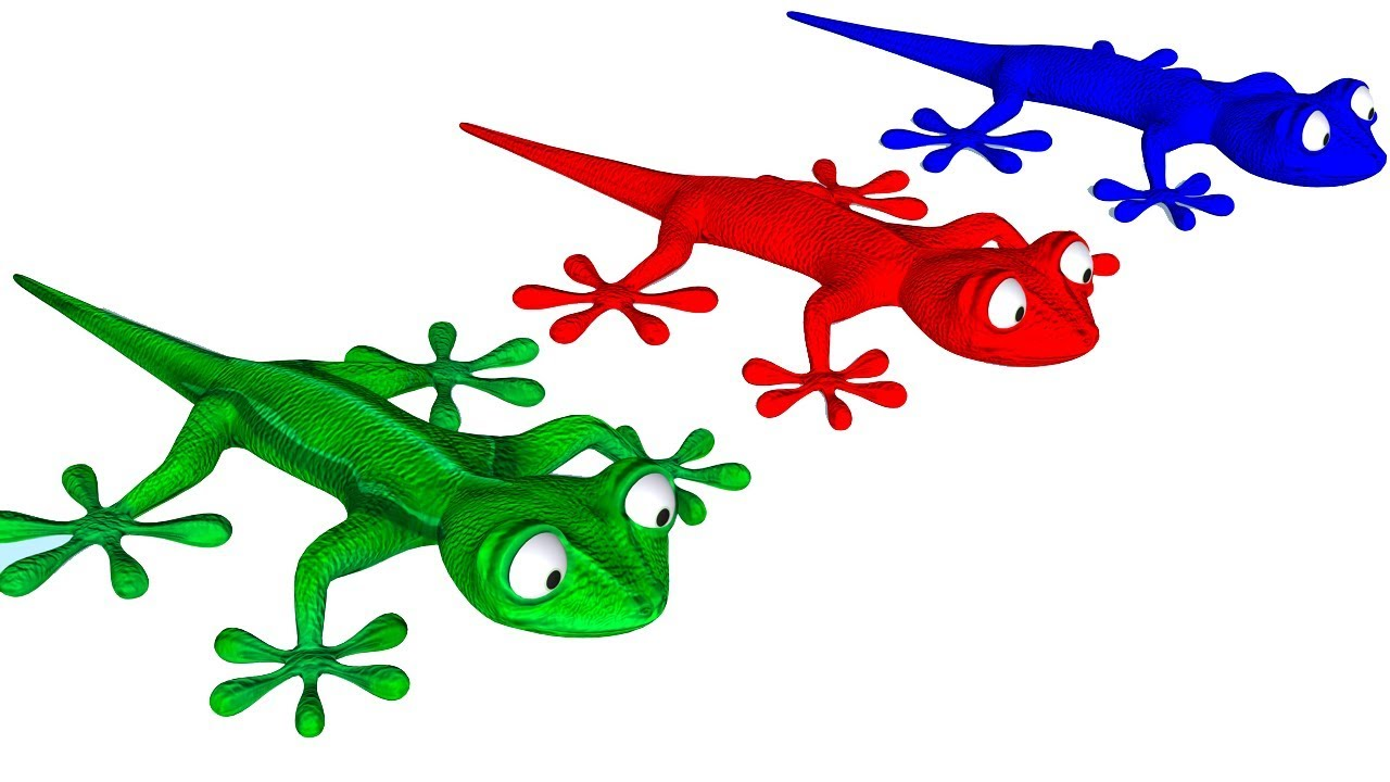 Gecko clipart kid. Learn colors with eating