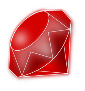 Gemstone vector red jewel. Free gem cliparts download