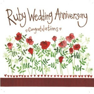 Gem clipart ruby wedding anniversary. Tag card the curiosity